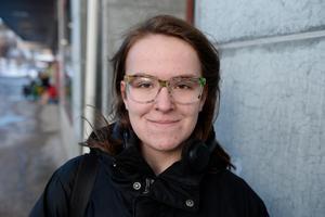 Jonna Vilhelmsson, 17, student, Stöde: – Som student har jag inte råd nu men i framtiden vill jag gärna skänka till någon organisation som hjälper barn.