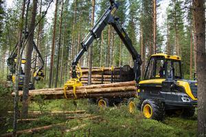 Ponsse vill kunna erbjuda bättre servicemöjligheter för sina kunder inom skogsindustrin i Gävleborg och Dalarna. Foto: Ponsse