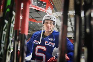 Hannes Hyvönen spelade ytterligare tre säsonger på elitnivå efter att han lämnade SSK. Han vann bland annat KHL-mästerskapet Gagarin cup 2010. Foto: Mats Andersson