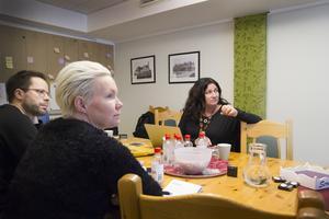 I Ljusdal var det representanter från fyra olika företag som samlats och kursdeltagarna tyckte att fler borde ta chansen att delta.