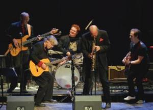 Leif Brixmark & New Holland Band.Pressfoto.