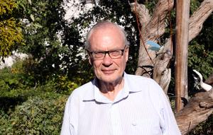 Lars Luttropp, tidigare kommunalråd i Västerås och initiativtagare till Stipendium till Lars Gustafssons minne.