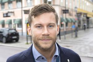 Cityfestivalens säkerhetschef Christopher Forsberg.