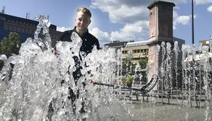 Jakob Westerlund från Gästriklands innebandyförbund är laddad för lördagens Grillo Open.