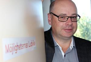 Göran Andersson vill se rejäla lönelyft på minst 4 000 i månaden för 15 anställda vid samhällsbyggnadsförvaltningen.Foto: Boo Ericsson/Arkiv