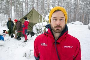 Daniel Zetterström från Greenpeace: