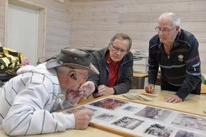 Vilka kan det här vara? Tankearbete runt en lagbild av Jarle Mosshäll, Inge Olsson och Torbjörn Rönning.