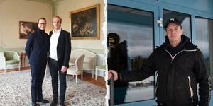 Bilder: Privat/Per Arnsäter. Daniel Molin, 29, åt lunch på residenset med bland andra Prins Daniel under torsdagen.