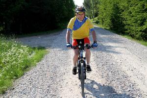 145 mil har han kört hittills i år, inför den 45:e 30-milaturen runt Vättern.