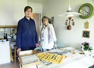Margareta och Anders Lööv var med om rånet mot postkontoret i Ankarsvik för 40 år sedan.