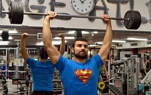 Starkare än någonsin tidigare – och att inte få ont. Det är målen för Daniel Saber.