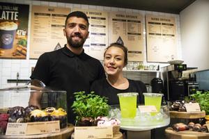 Simone Rytkönen kommer att driva kaféet med hjälp av sambon Özkan Yasar.