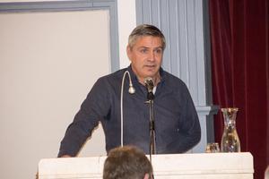 Kommunalrådet Lars Isacsson (S)  fick  argumentera för  majoritetens beslut i flera ärenden.