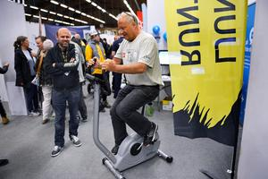 Ånges kommunalråd, Sten-Ove Danielsson (S), ställde upp i tävlingen om att cykla så långt som möjligt. Han kom 730 meter. Topplistan såg ut som följer: 1) Micko Erkstam, Ånge, 780 meter2) Mikael Johansson, Ånge, 750 meter3) Tony Eriksson, Ånge, 740 meterBland deltagarna lottades två startplatser till Ljungandalsloppet 2018 ut till en vinnare och det blev David Löfgren, Ånge.