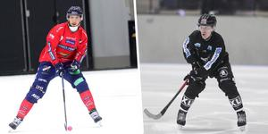 Simon Jansson och Simon Blomkvist – två av spelarna som drabbar samman i den andra omgången av elitserien.