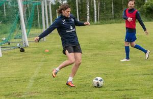 Forne Bragespelaren Oscar Andersson gör succé med nykomlingen Tällberg.