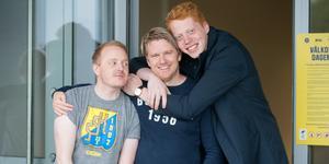SSK-poddens Andreas Häggström, Johan Myrberg och Mauri Hermundsson kommer att glädjas åt – eller lida med – SSK den här säsongen också.