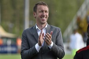 Graham Potter är ny tränare i Brighton & Hove Albion.