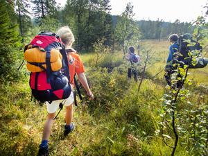 Det är härligt att hemestra i naturen. Det gäller att sköta om den väl. FOTO: Kallestad, Gorm