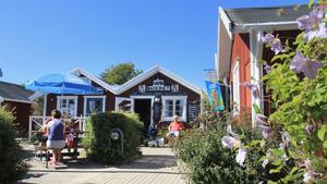 Hamnbodarna i Nynäshamns gästhamn.