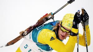 Sebastian Samuelsson lyckades inte lika bra som tidigare i veckan. Bild: Bildbyrån.