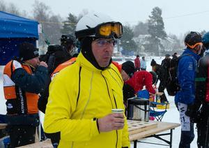 Holländaren Jan Dirk Vink var mer än nöjd med förhållandena även om vädret var en utmaning.