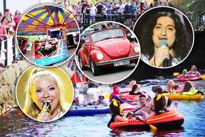 Å-festen i Falun pågår mellan fredag och söndag.
