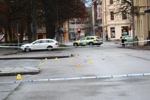 Morden skedde i de centrala delarna av Norrköping. Foto: Jeppe Gustafsson/TT