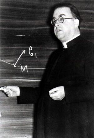 I det sekulära samhället förenklas ofta relationen mellan tro och vetande. Teorin om Big Bang, den mest vedertagna förklaringen till universums uppkomst formulerades av den belgiske katolske prästen och astronomen Georges Lemaître 1927 .