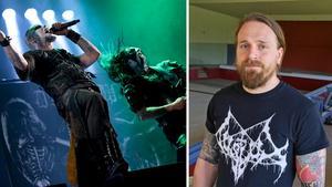 Dark Funeral är en av artisterna som kommer till Gamrocken i Grängesberg som arrangeras av Alexander Högbom.Foto: TT/Johanni Sandén