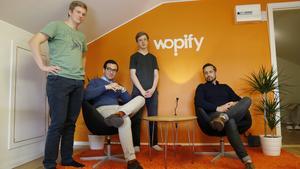 Teamet bakom den nya tjänsten, Tobias Skarhed, Fahrim Shirinzade, Henric Carlsson och Jimmy Larsson, hoppas att den nya appen ska göra skillnad för folk som söker nytt arbete samt för företag som söker folk.