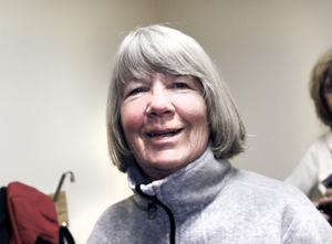 Elena Eriksson har gympat med Friskis&Svettis på Vallbacksskolan förr, på 1990-talet. Hon tror att det kan bli trångt jämfört med Fjärran Höjder.