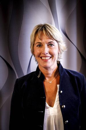 Bodil Eriksson tog över som ordförande i våras och blev därmed den andra kvinnan på posten i Jämtland Basket. Den första var Anneli Bengtsson.