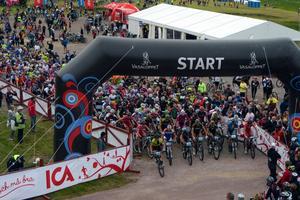 Starten i Cykelvasan 2012.