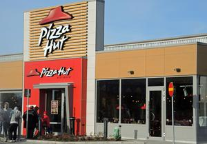 Pizza Hut invigning Borlänge 6 okt 2016.
