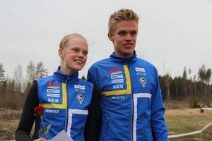 Syskonen Isac och Vilma von Krusenstierna är uttagna till JVM i orentering.