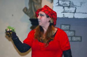 Sopran. Ann-Sofie Andersson, arbetar annars vid Kungliga Operan och medverkade i operaprojektet för barn i Rättvik.