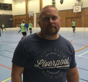 Patrik Karlsson, tränare i Klockarberget.