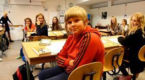Wille Bergström, 11 år, på Sörbyskolan tycker att det ska bli spännande med nya lokaler.