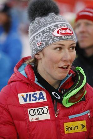 Michaela Schiffrin tog sin femte slalomseger denna säsong i Åre på lördagen.