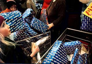 Julhandeln tippas slå nya rekord. En treprocentig ökning är HUI Research prognos.Foto: Tobias Röstlund