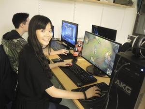 Fanny Eriksson, 17, representerar Falun i League of Legends