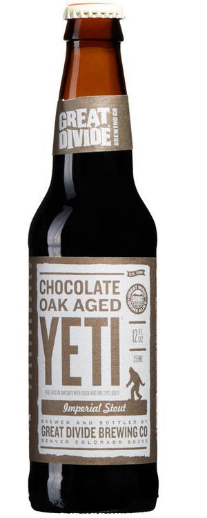 Chocolate Oak Aged Yeti.