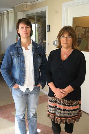 Fackets representant Lena Carlsson och IFO - chefen Britt Sjöberg gör samma analys. Personaförstärkning nödvändig för att klara uppdraget.