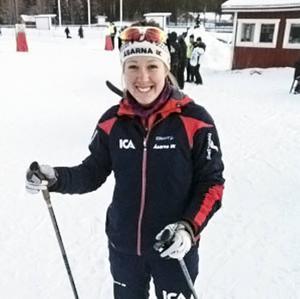 Lisa K Svensson, Åsarna, vann Tour de Ski Kina för andra året i rad.
