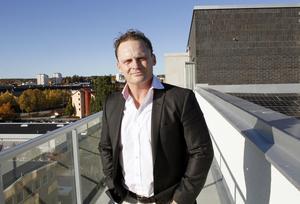Niclas Ericsson, VD för Imperia Fastigheter har  funderat på konceptet för det nya huset i tio år.