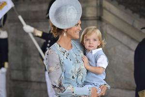 Prins Nicolas föddes 15 juni 2015.