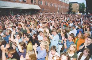 Publikbild, Storsjöyran 1995.