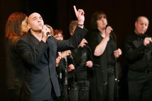Bilden är från Gospelfesten 2005