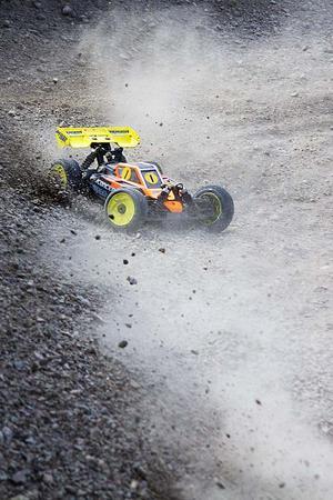 Det var även fullt ös på den nyrenoverade Hallon Raceway.